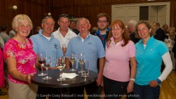 The crews of SV Enigma and SV Leaky Roof II from Clyde Cruising Club at the civic reception in Dún Laoghaire Town Hall to launch the Volvo Dún Laoghaire Regatta 2015.