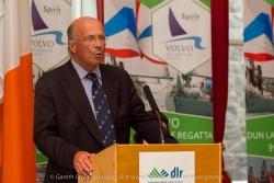 Tim Goodbody (Chairperson, Volvo Dún Laoghaire Regatta) at the civic reception in Dún Laoghaire Town Hall to launch the Volvo Dún Laoghaire Regatta 2015.