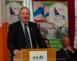 Adrian Yates (Managing Director, Volvo Cars Ireland)at the civic reception in Dún Laoghaire Town Hall to launch the Volvo Dún Laoghaire Regatta 2015.