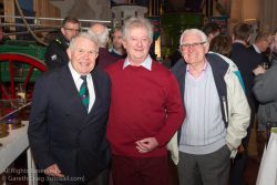(l to r) David Lovegrove (President, Irish Sailing Association), Flor O'Driscoll, and Brendan Dalton attending the official launch in the National Maritime Museum of Ireland.