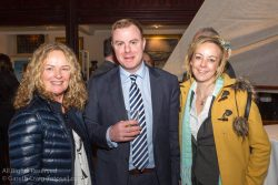 (l to r) Pamela Collen, Barry King, and Sandra Mullen, from new Regatta sponsors Collen Construction, attending the official launch in the National Maritime Museum of Ireland.