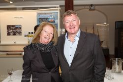 (l to r) Eleanor Connolly and Martin Byrne attending the official launch in the National Maritime Museum of Ireland.
