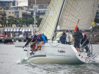 Afloat.ie :: Howth's 'Flashback' Moves Into Offshore Contention at Dun Laoghaire Regatta