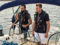 We invited Leinster Rugby stars Isa Nacewa and Jordi Murphy for a sail on Dublin Bay so they could get a flavour of what awaits the 450 boats who've entered #VDLR2017