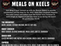 Get your #MealsOnKeels from Bretzel Bakery & 'Just Wing It'