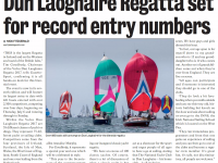 Dún Laoghaire Gazette :: Dún Laoghaire Regatta set for record entry numbers