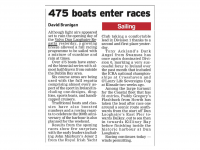 Irish Examiner :: 475 Boats Enter Races