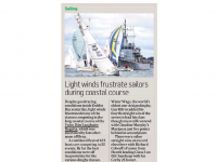 Irish Times Sport :: Light Winds Frustrate Sailors During Coastal Course
