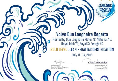 Clean Regattas 'Gold Star' Certification