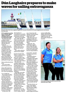 Southside People :: Dún Laoghaire prepares to make waves for sailing extravaganza