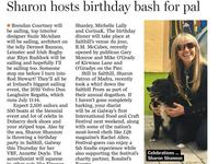 Sunday Independent :: Sharon hosts birthday bash for pal