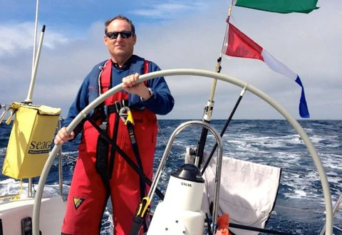 "Peter Ryan of the National YC is Afloat ""Sailor of the Month"""