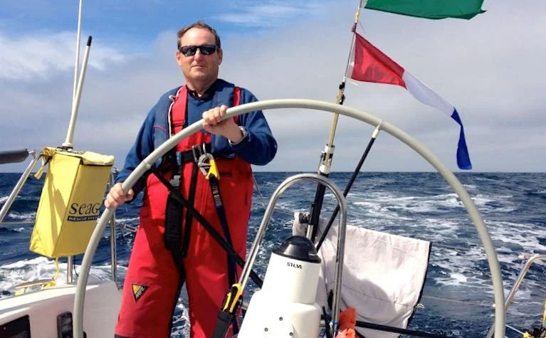 """Peter Ryan of the National YC is Afloat """"Sailor of the Month"""""""